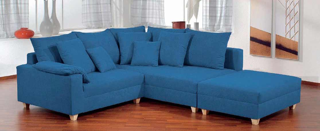 Blue Sofas Feel The Home