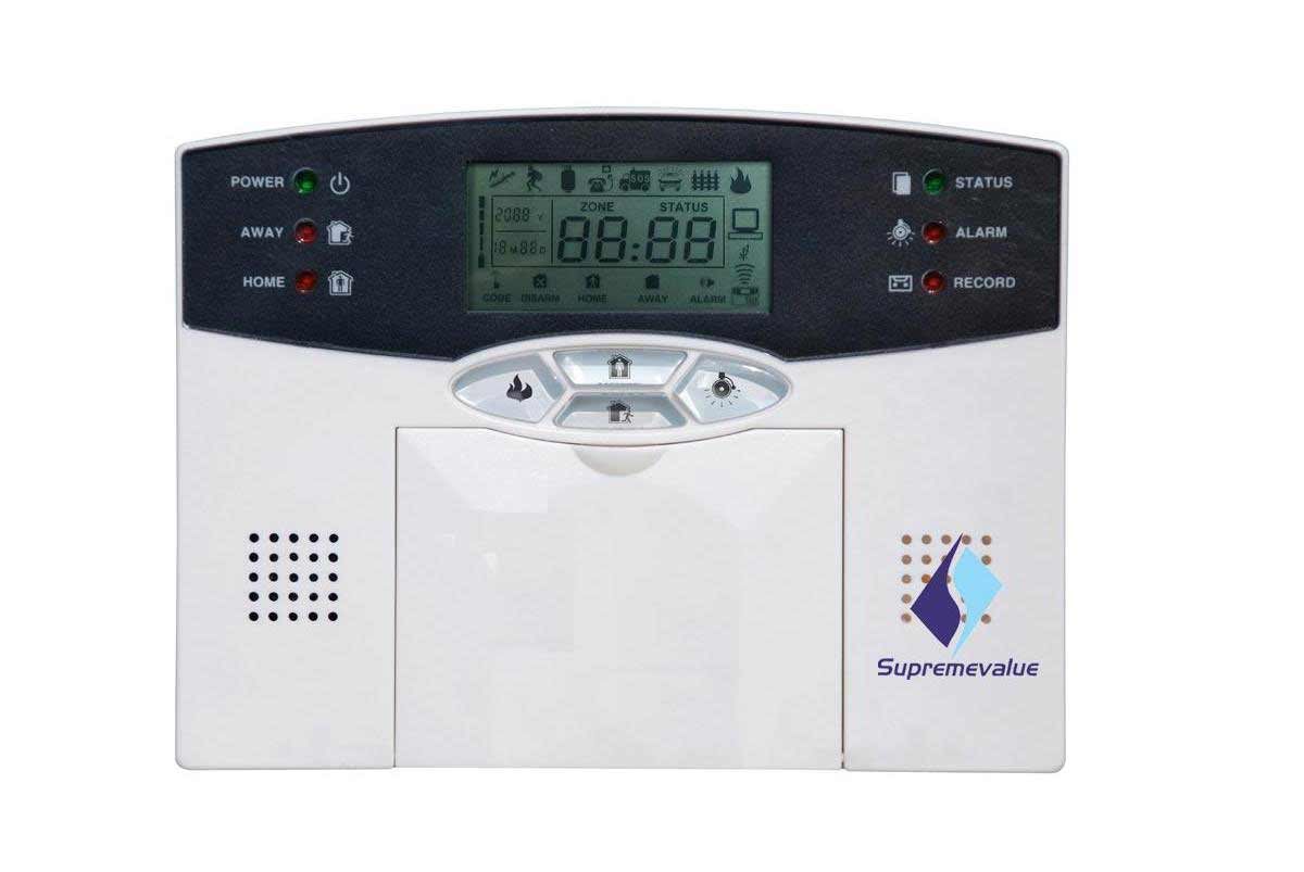 Supremevalue complete home wireless alarm solution