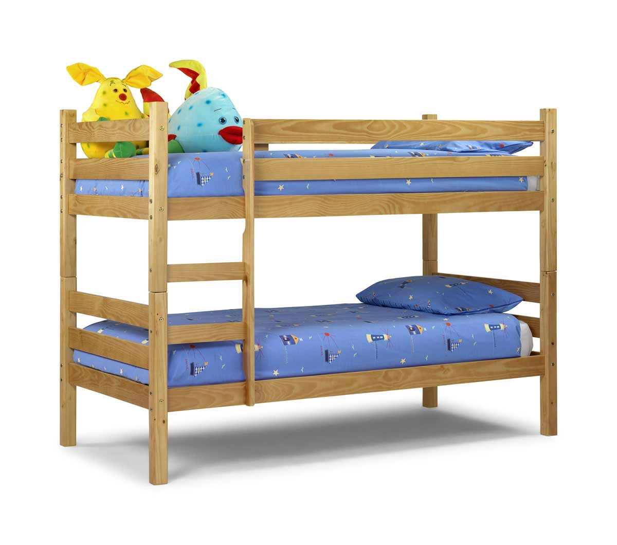 Wyoming Kids Wooden Bunk Bed From Julian Bowen