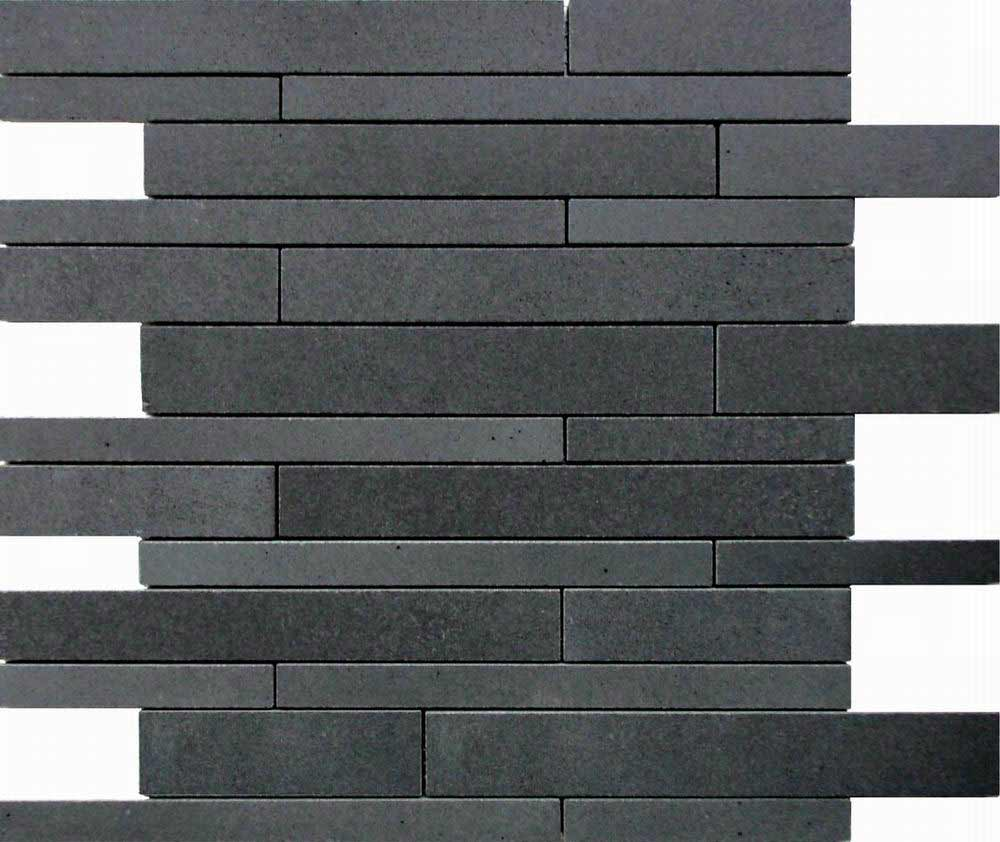 black wall tile flooring for home