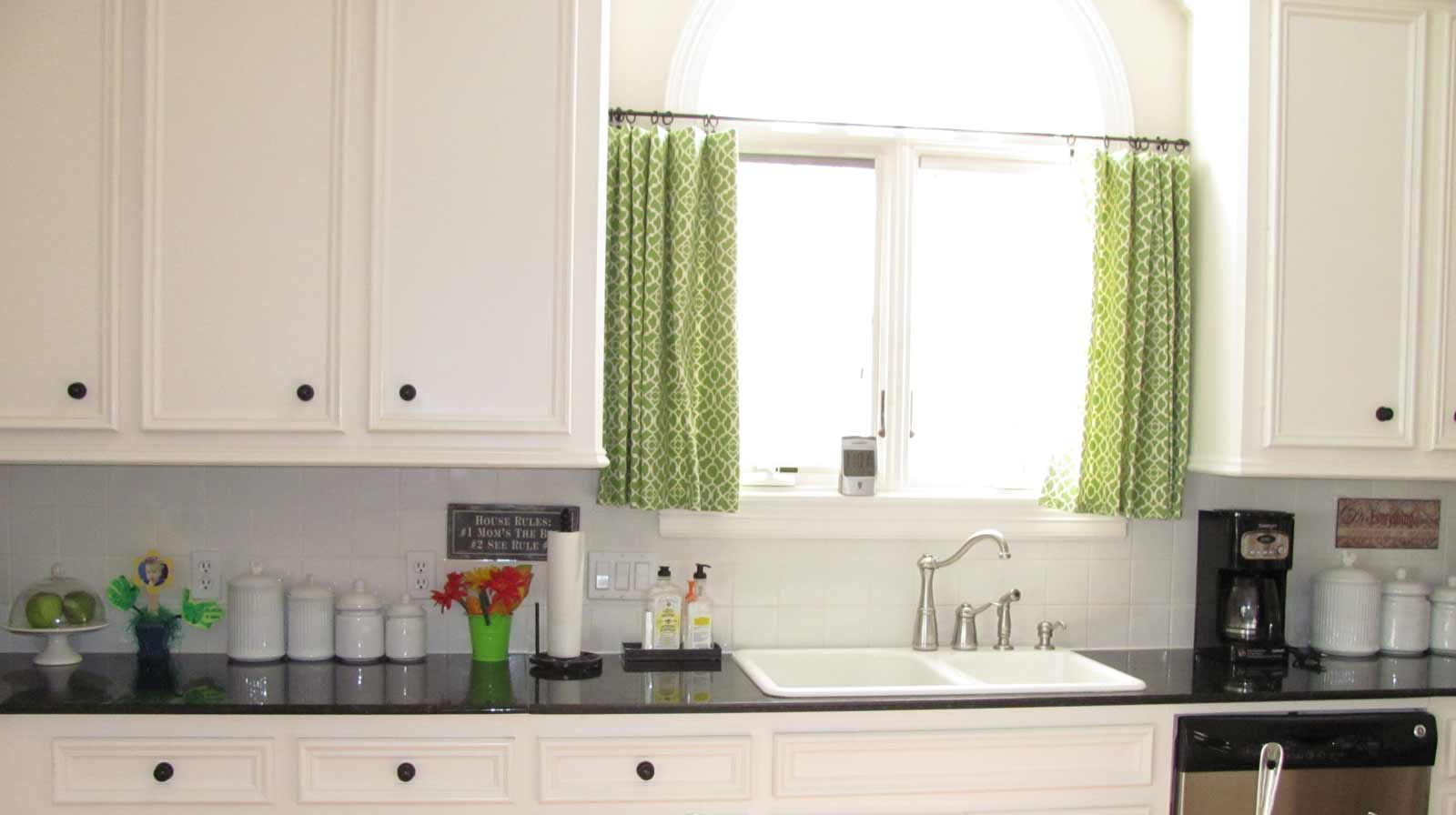 modern cafe curtains for kitchen
