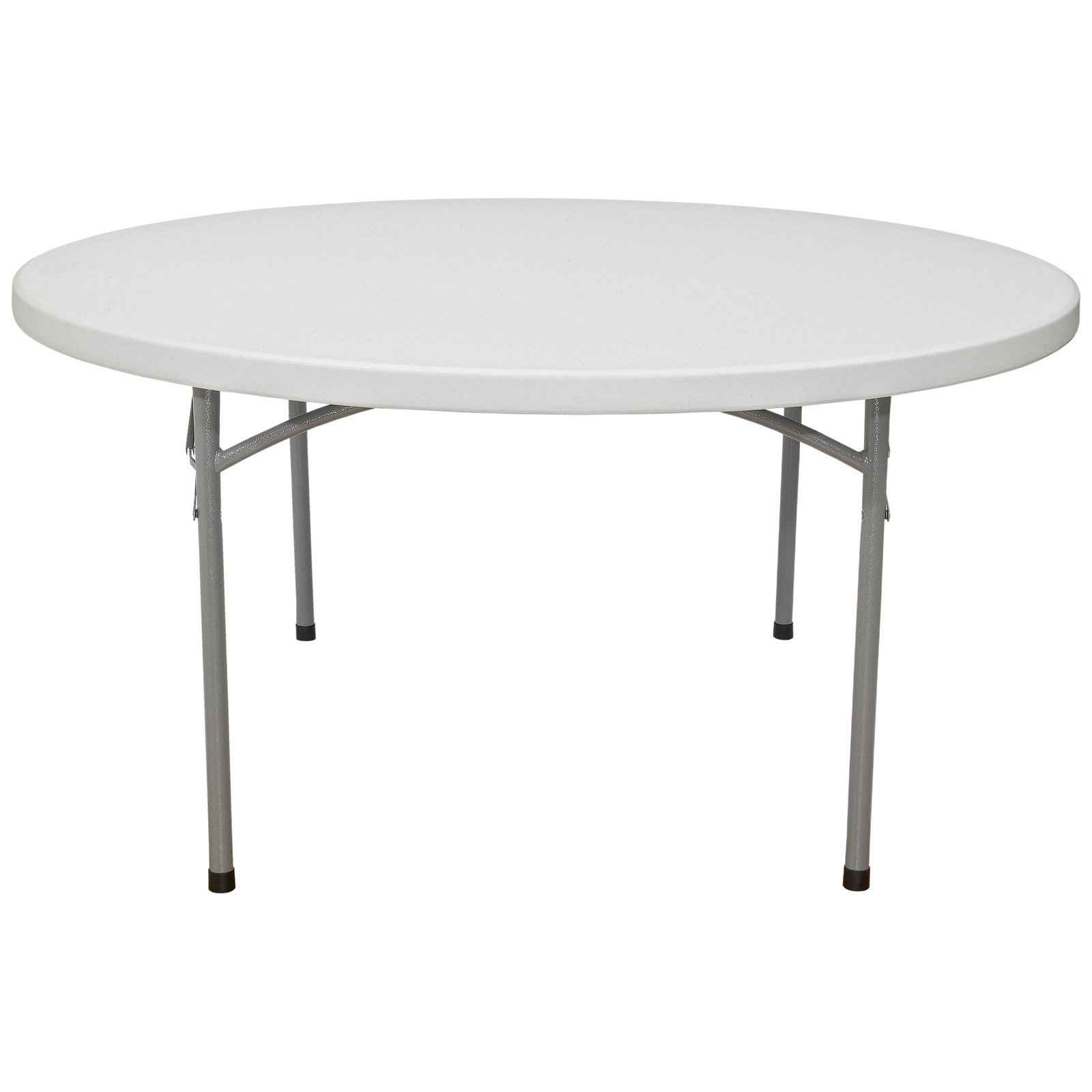 BT White Round Folding Tables from National Public