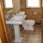 Bathroom brick tile for wall and floor