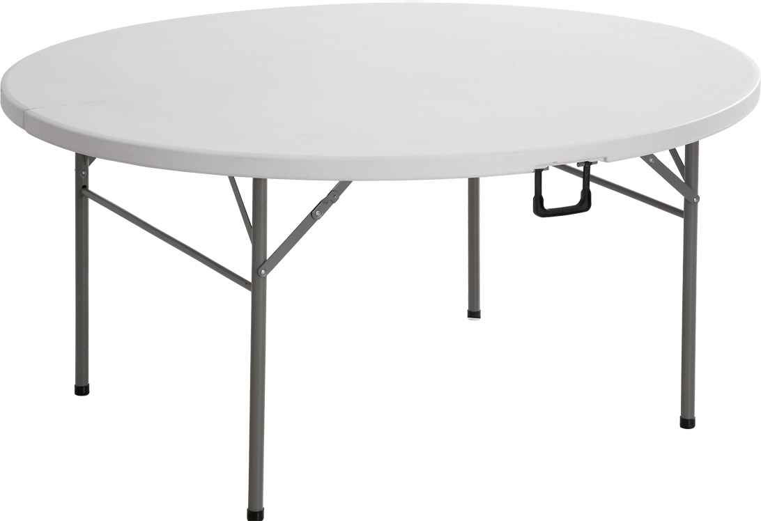 Big Portable Banquet Round Table