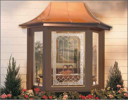 Brown Vinyl Windows for Home