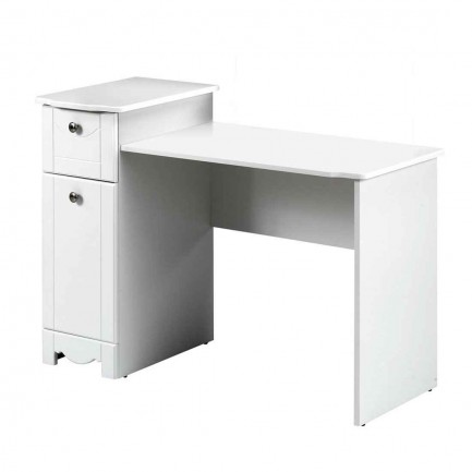 Dixie Nexera Cheap White Desk for Bedroom Student