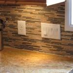 Emily Straight Mosaic Kitchen Backsplash Design