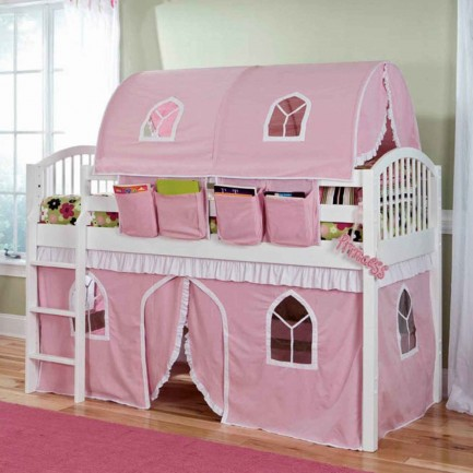 Girls Castle Tent Canopy Beds
