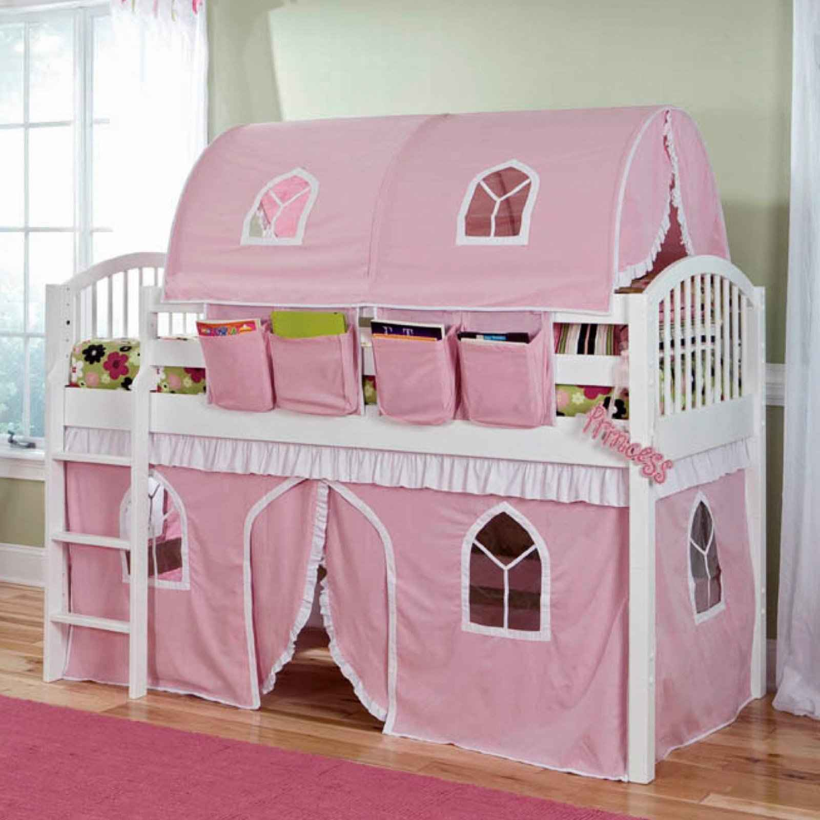 Castle Beds For Girls Loft Plans | Feel The Home