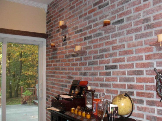 Lancaster Custom Brick Wall Tile Style