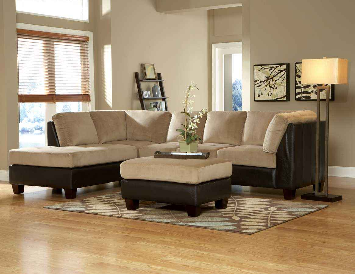 Brown Sectional Sofa And Its Suitable Surroundings