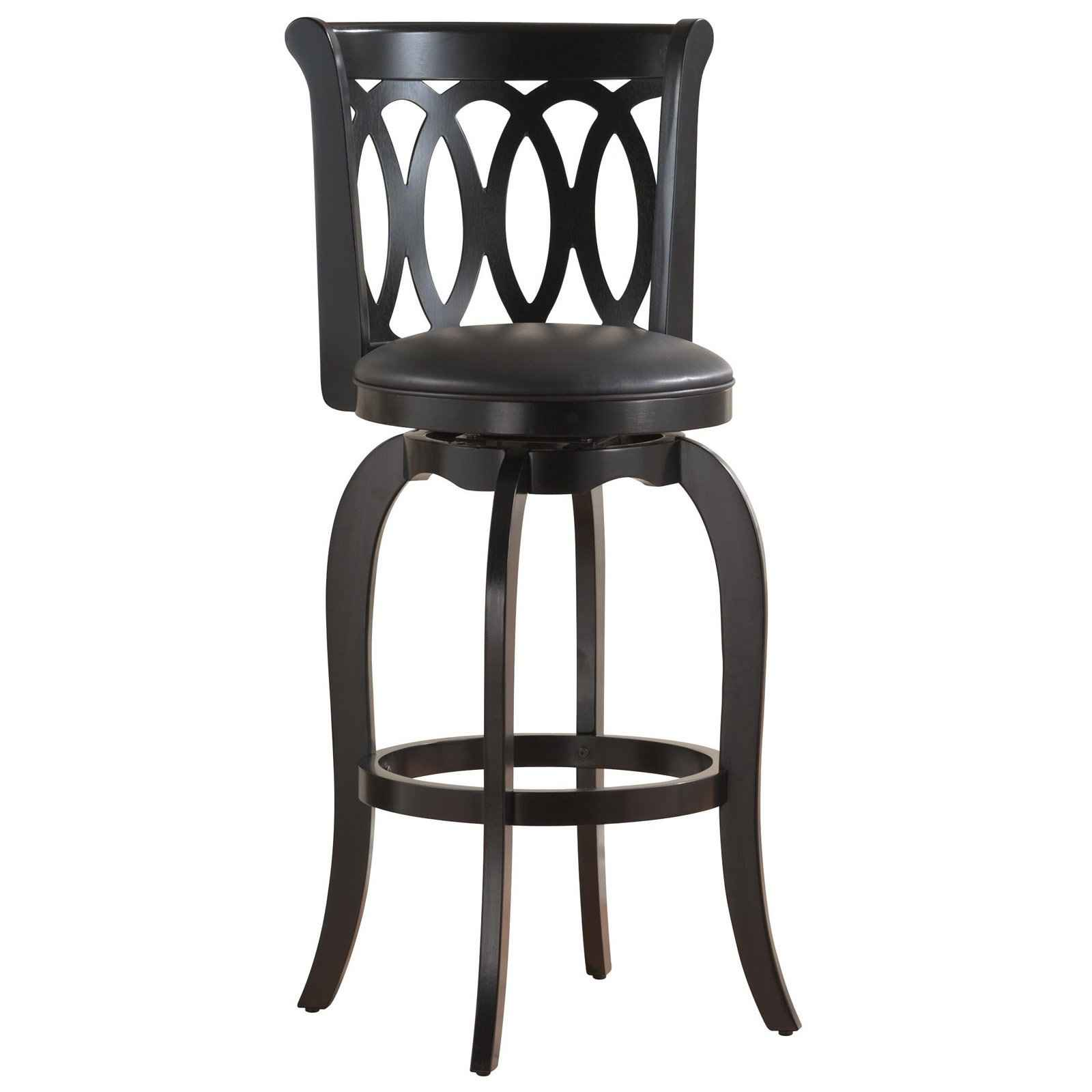 swivel bar stools with back feel the home. Black Bedroom Furniture Sets. Home Design Ideas