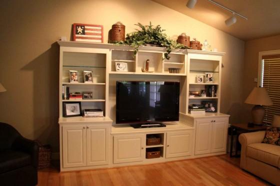 Custom Entertainment Cabinet Plans
