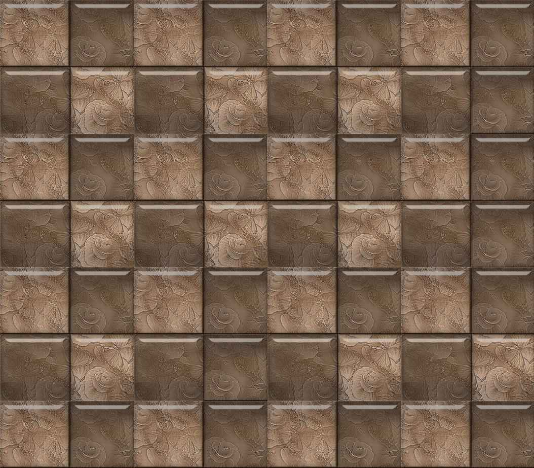 Dark Brown Glass Subway Tile