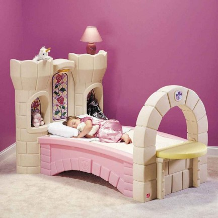 princess castle beds for girls