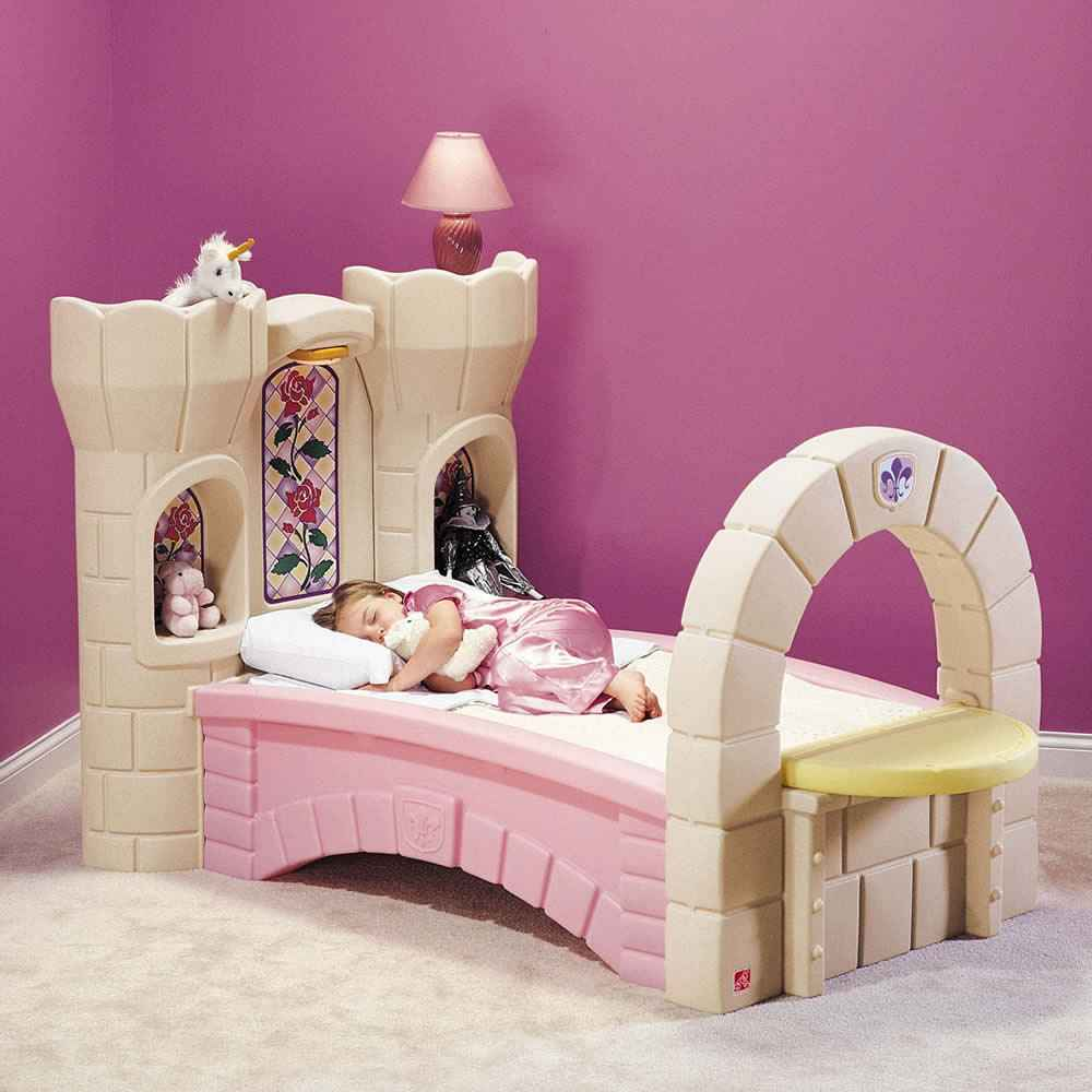princess castle beds for girls marvelous deluxe loft castle beds for ...