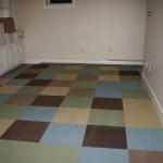 rubber bracked carpet tiles for basement