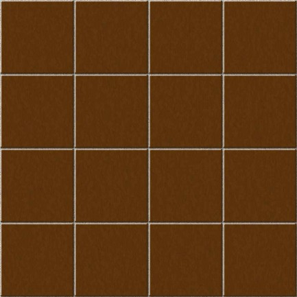 square wood brown tile