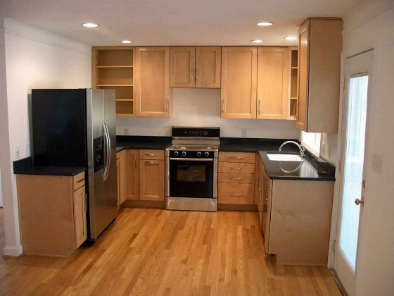 Affordable Solid Wood Kitchen Cabinet Sets