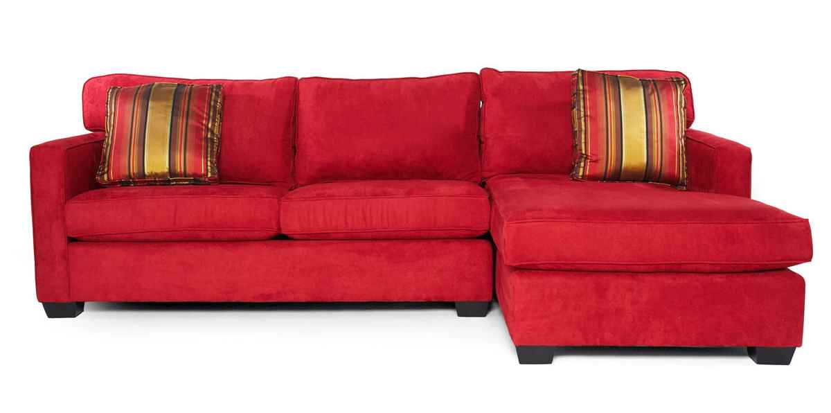 Cheap sectionals sofa sofas for Red sectional sofas cheap