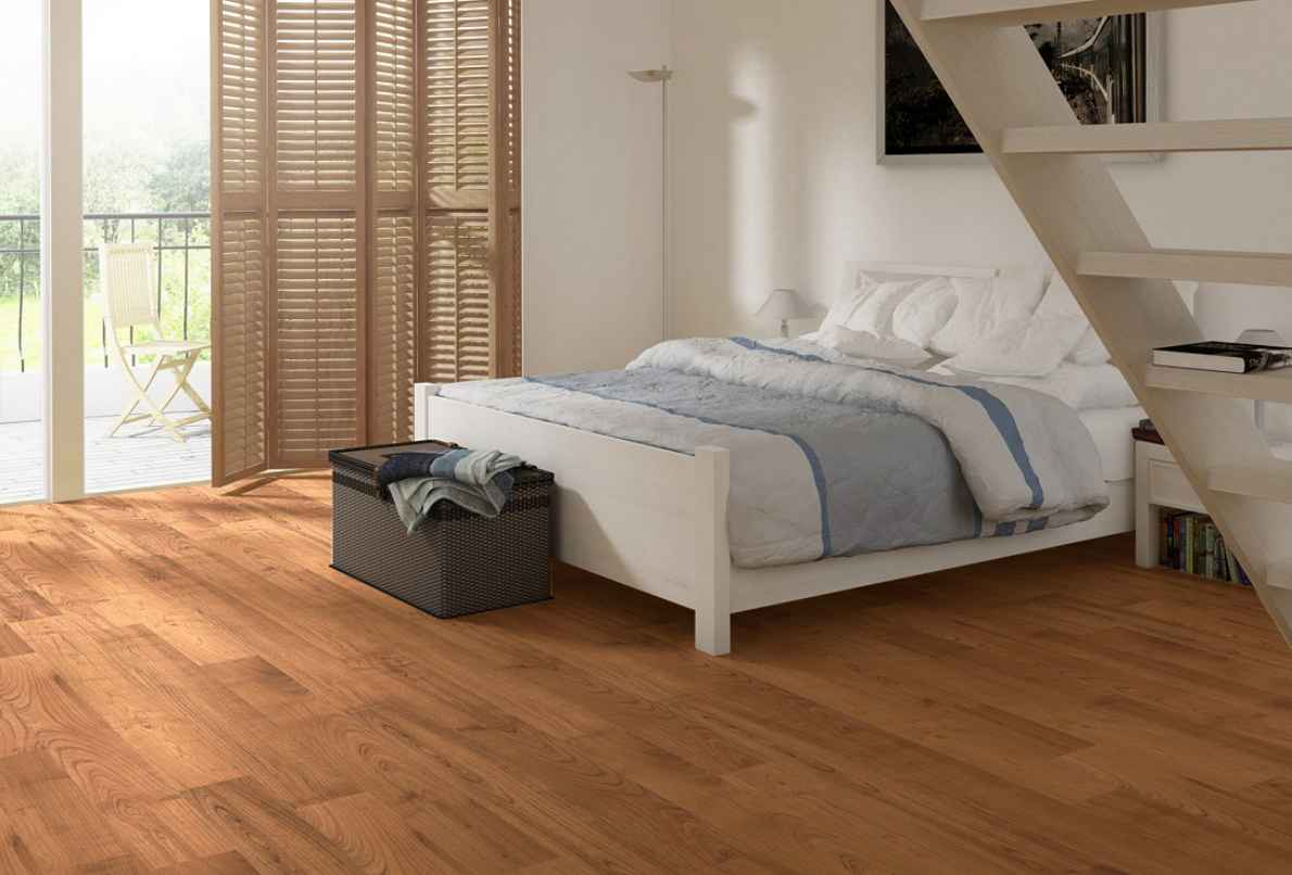 Cheap flooring options for your homeowners for Bedroom ideas oak