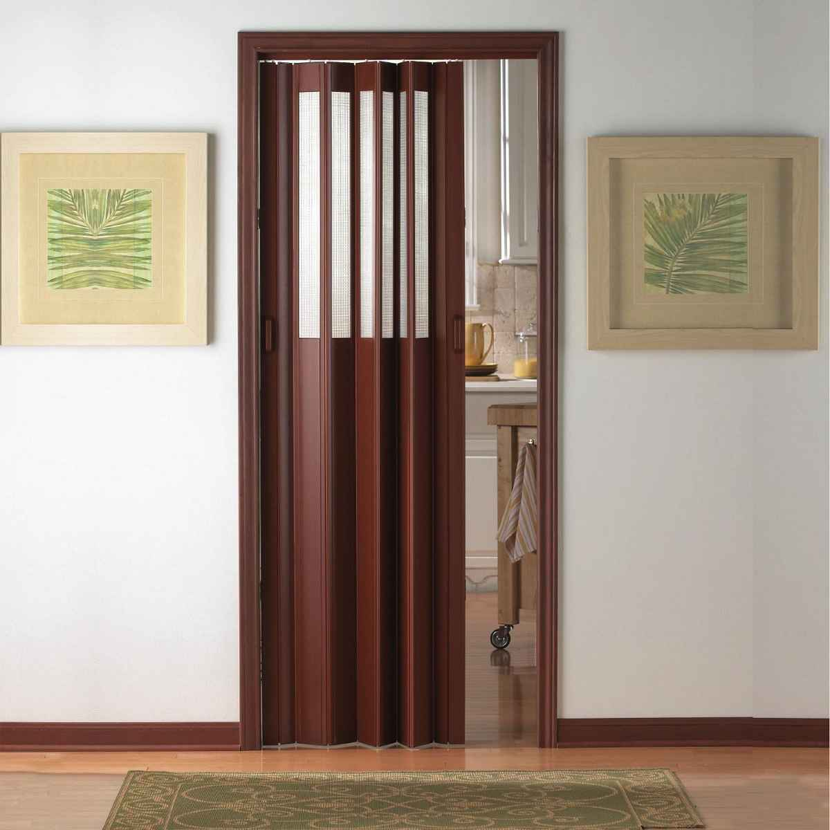 Folding doors room dividers feel the home for Interior folding doors