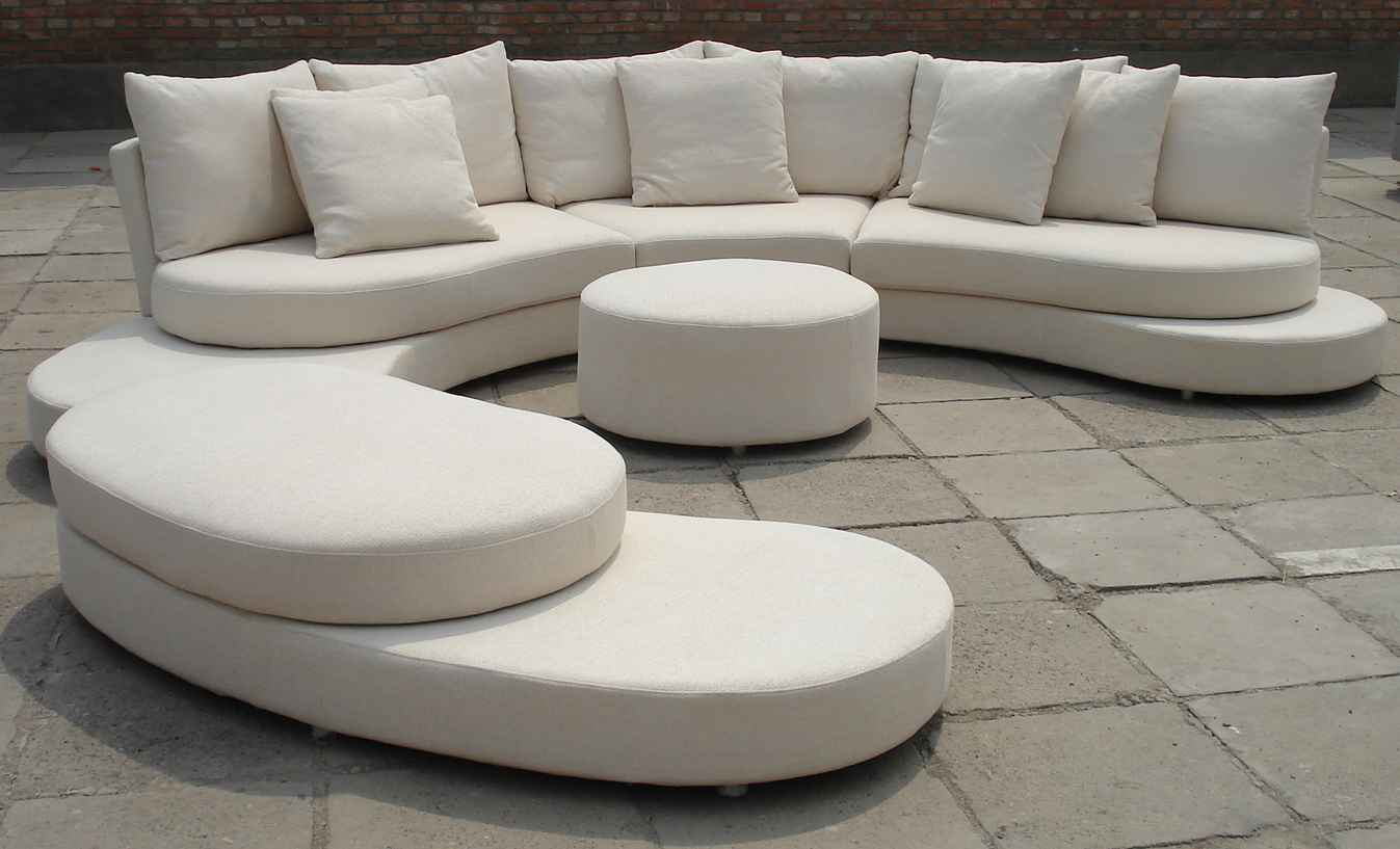 Cheap Modern Furniture Online in White Leather