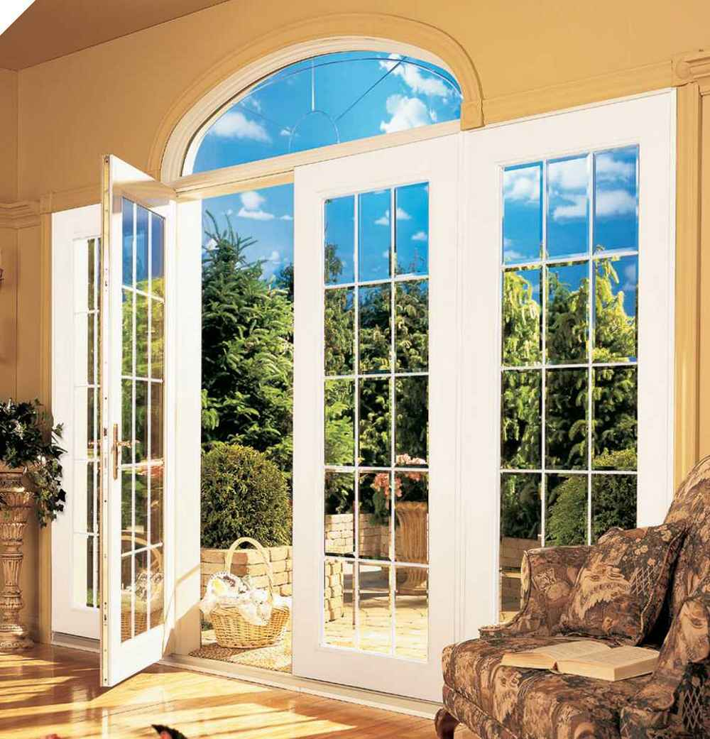 French Doors And Windows : Cheap exterior doors feel the home