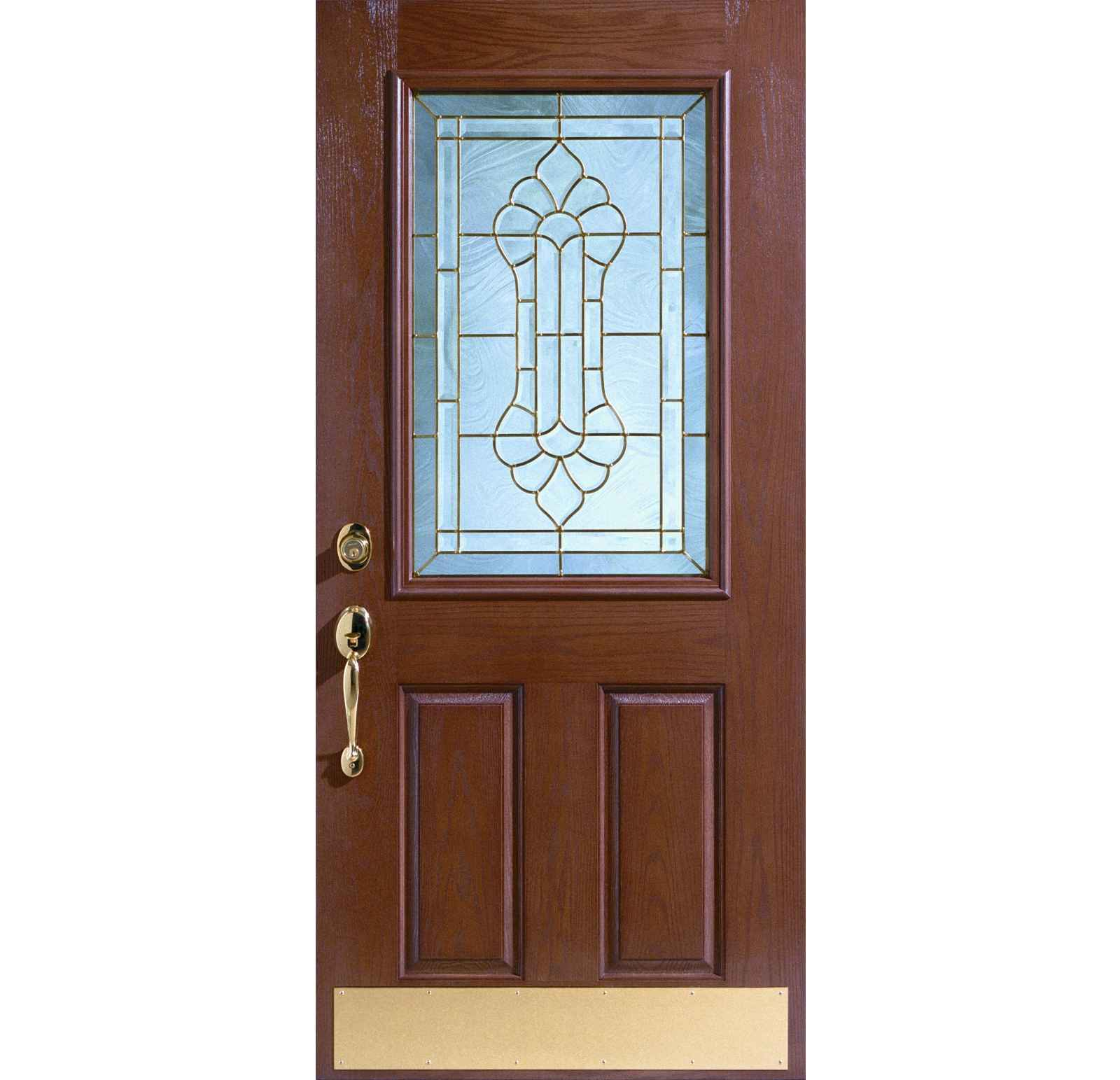 1543 #9A7331  Pairs Cheap Entry Doors Saint Michelle Classic Affordable Entry Door pic Entry Doors With Transom 40411600