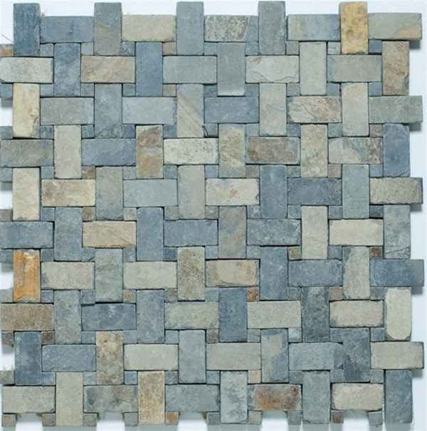 cheap autumn stone slate tile