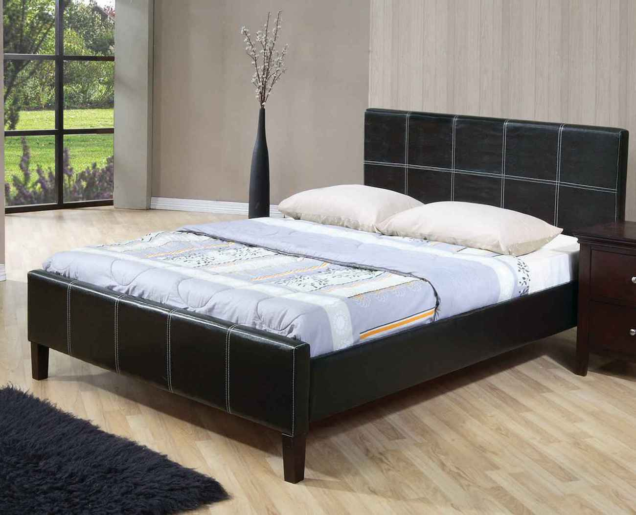 Affordable cheap black platform beds in New York