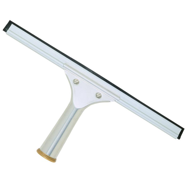 Aluminum windows cleaning squeegee