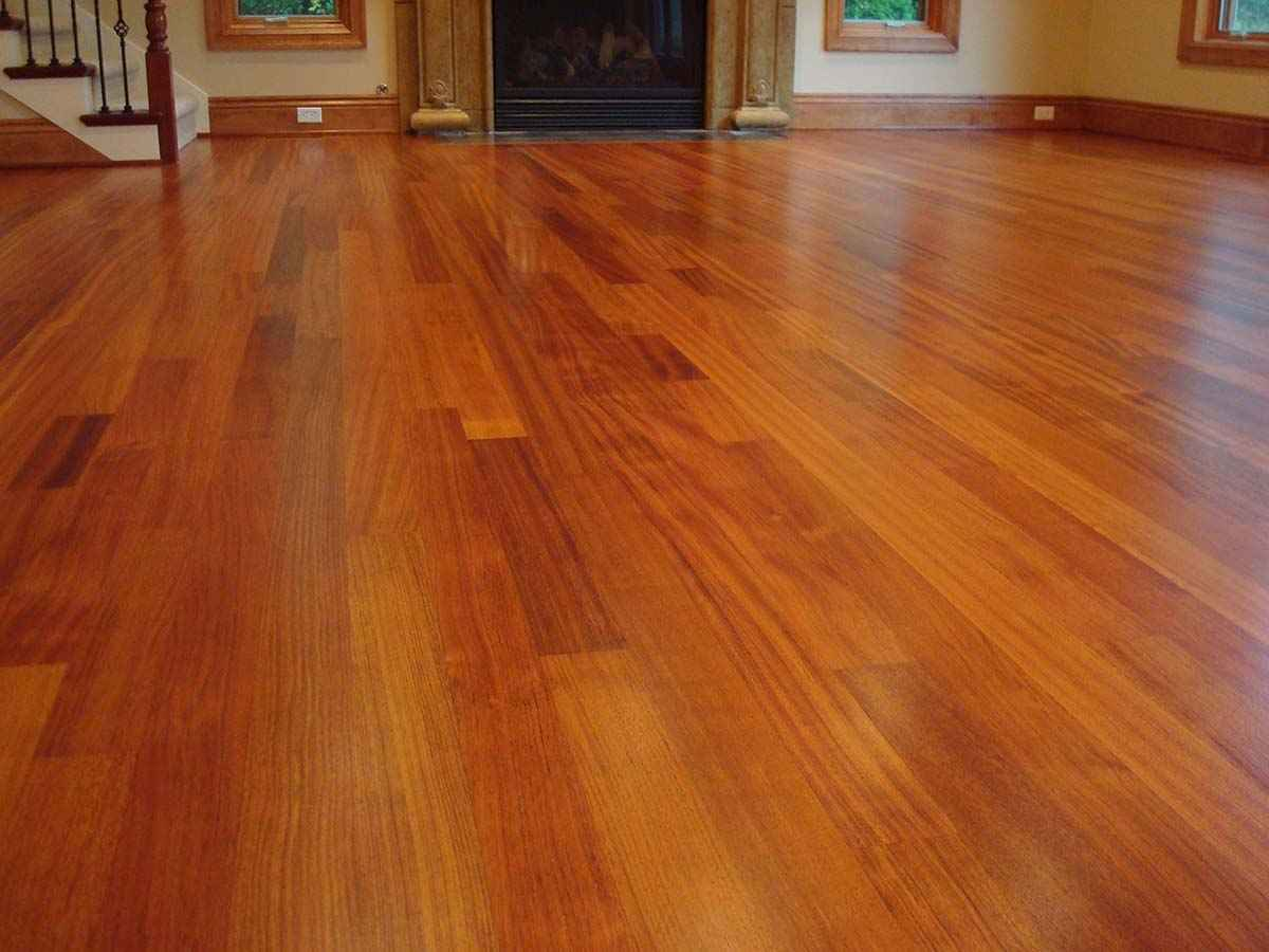 Cherry Wood Floor Wall Color Feel The Home