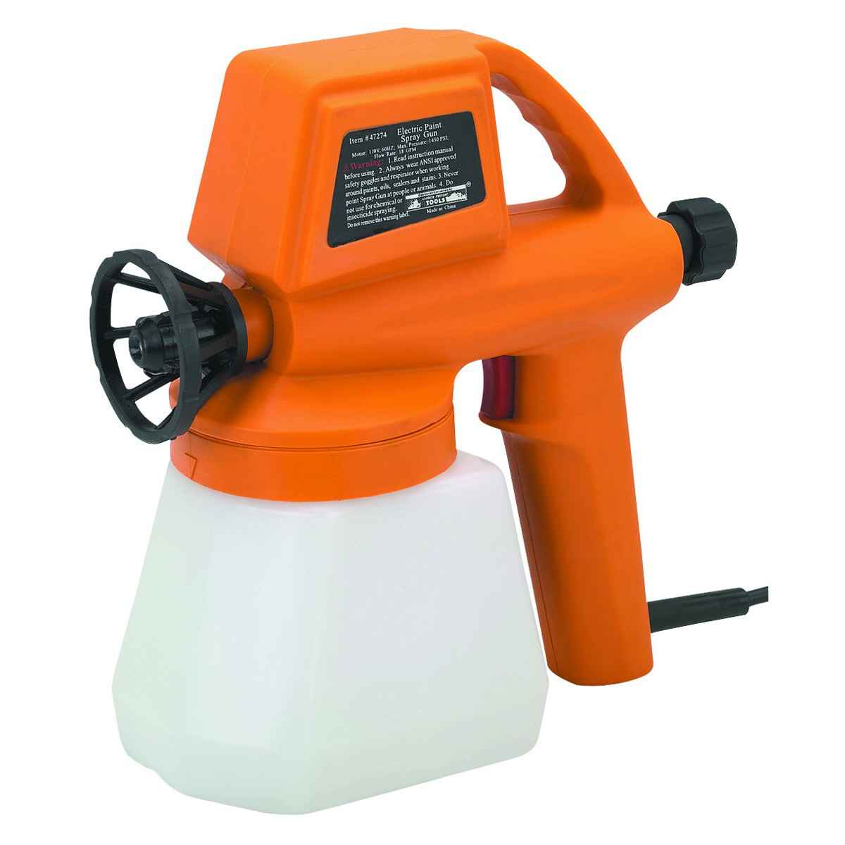 Chicago Electric Affordable Paint Sprayers Gun