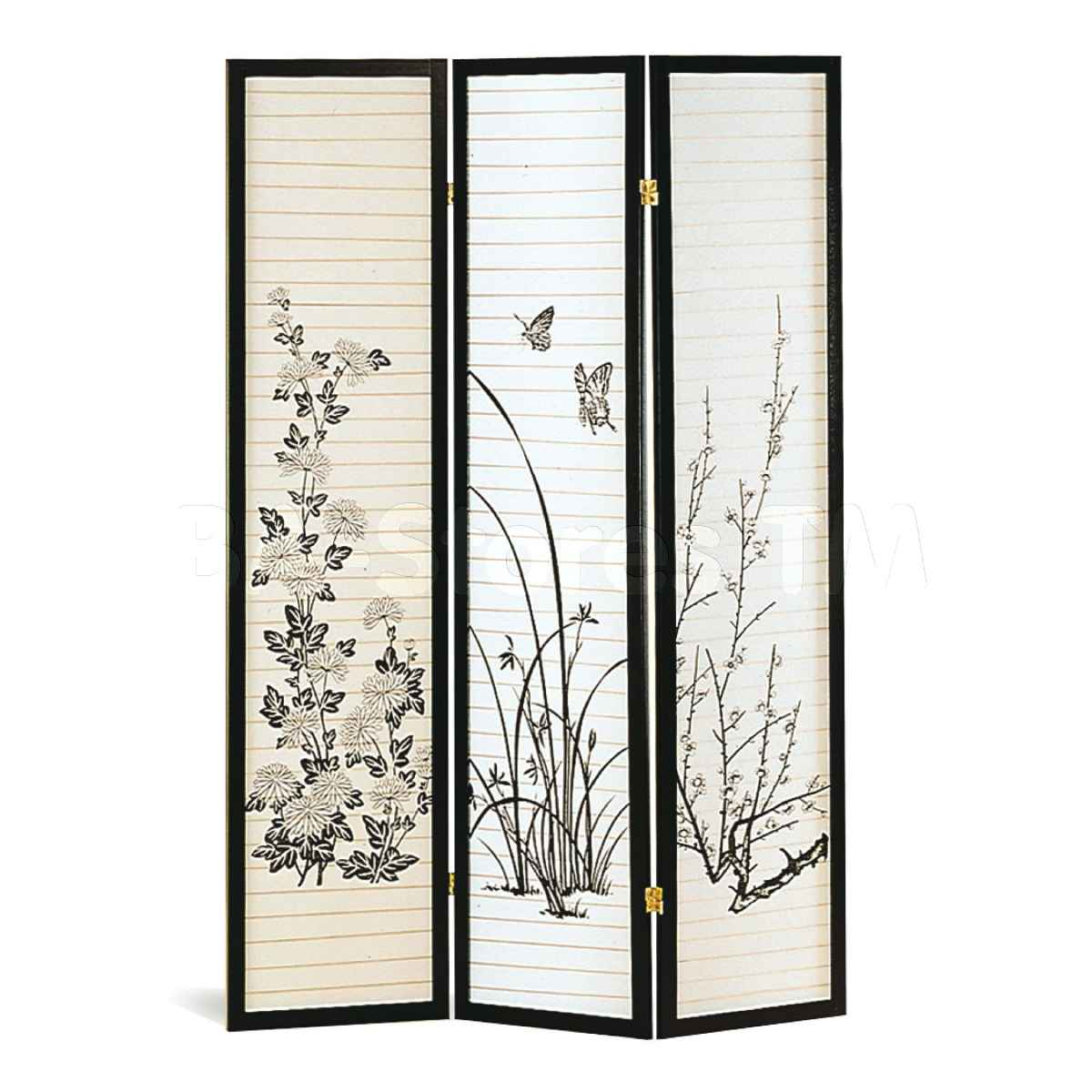 Coaster Folding Bamboo Screen Divider