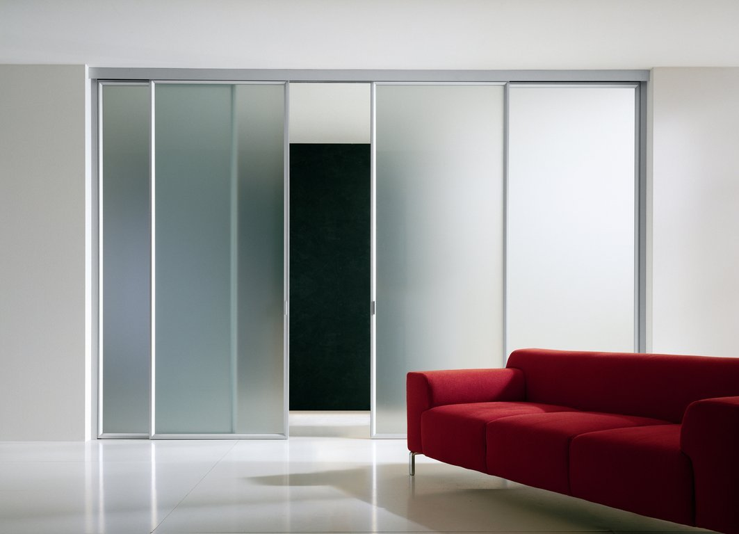 Elegant Sliding Glass Panels For Living Room