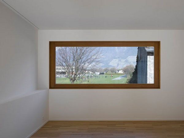 Hardwood Window Frame from Clavien Rossier