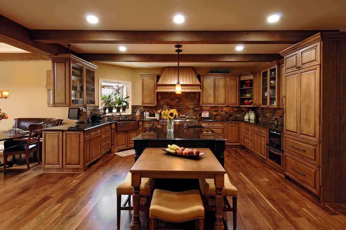 Home improvement contractors duties for Kitchen home improvement