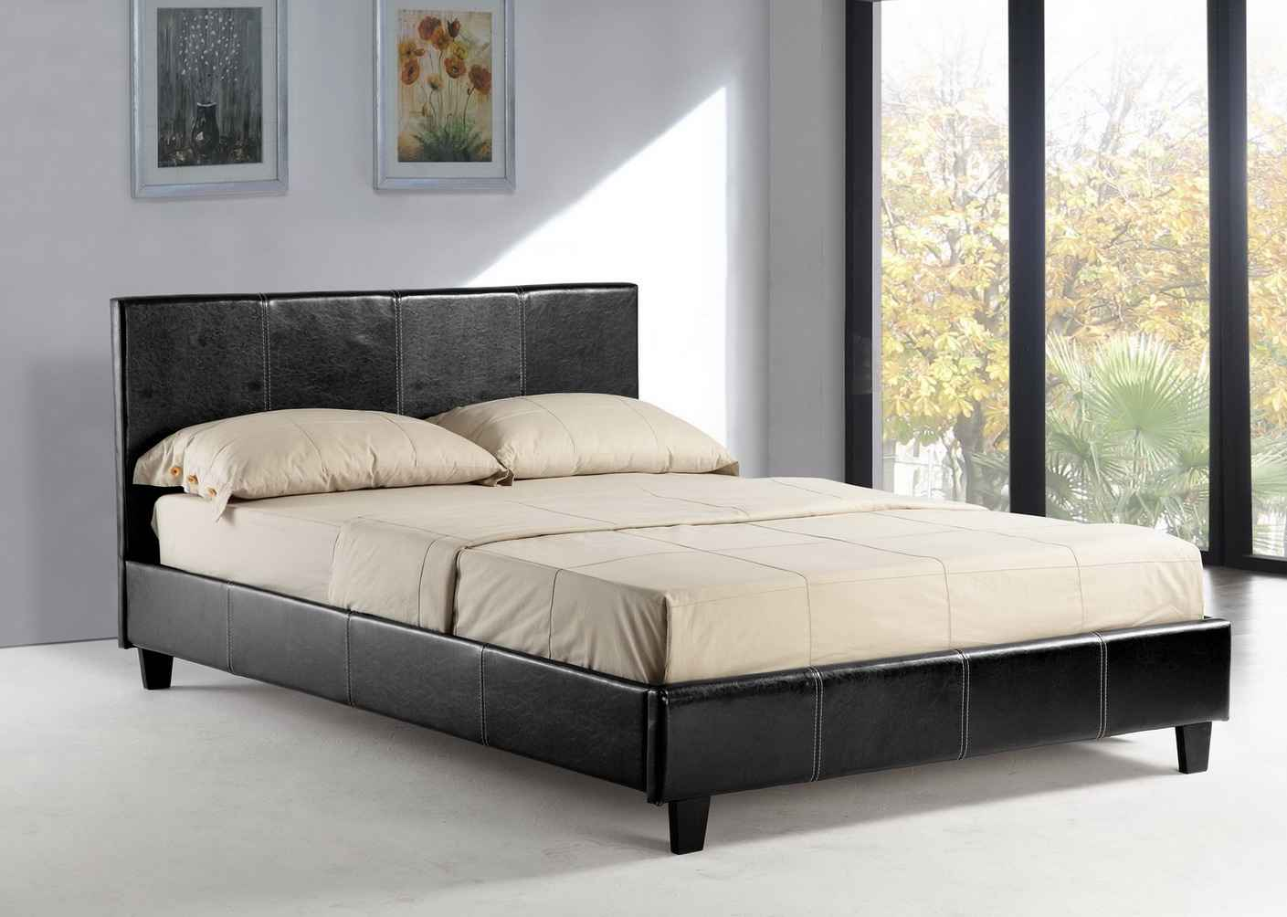 Home Queen Black Platform Beds