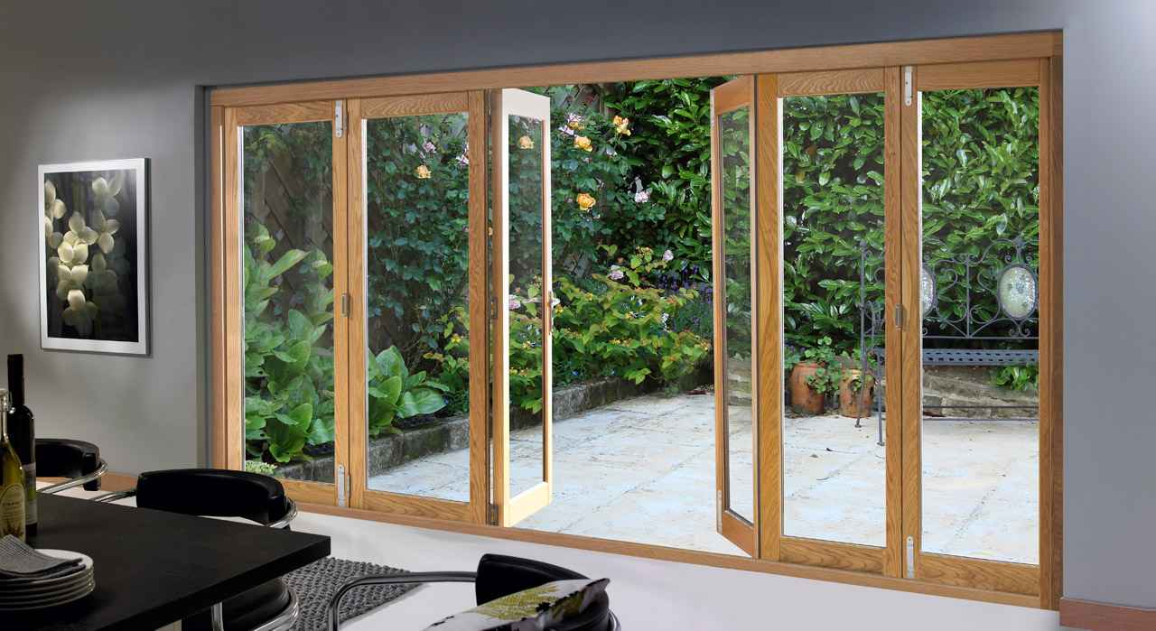 Sliding glass walls feel the home for Exterior door with sliding window