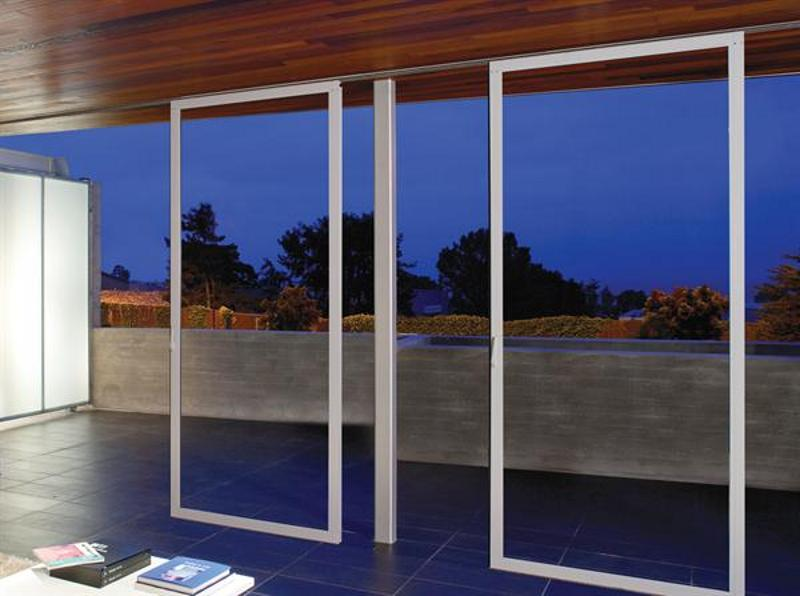 Individual sliding glass panel system from NanaWall