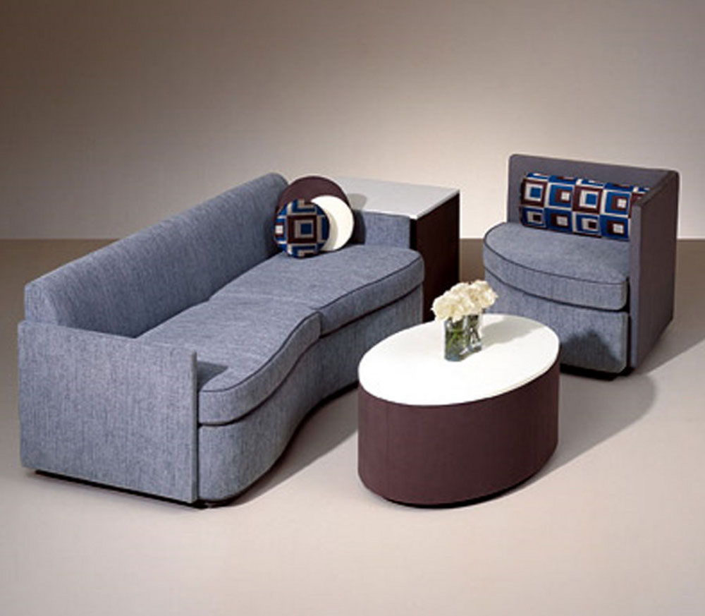 Contemporary american furniture feel the home for Modern living room sets
