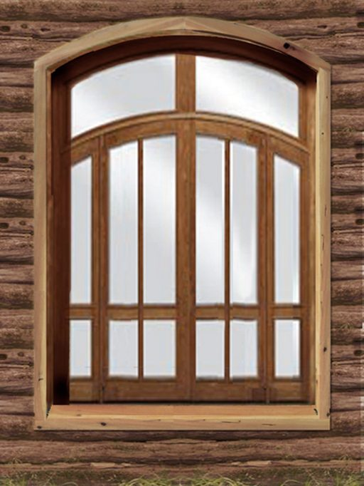 Wooden window frames ideas for Window design art