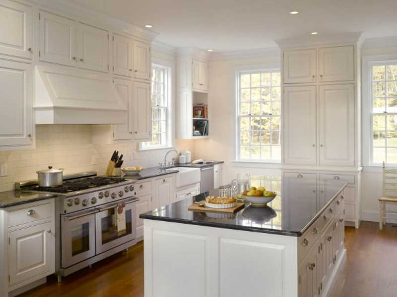 built in wainscoting kitchen backsplash ideas