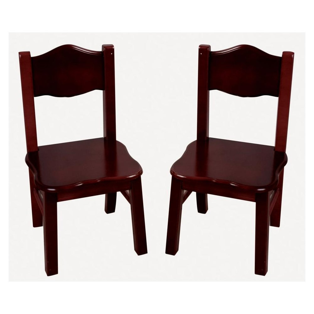 espresso classic accent chairs