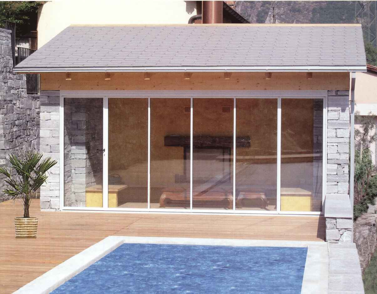 insulated glass sliding wall