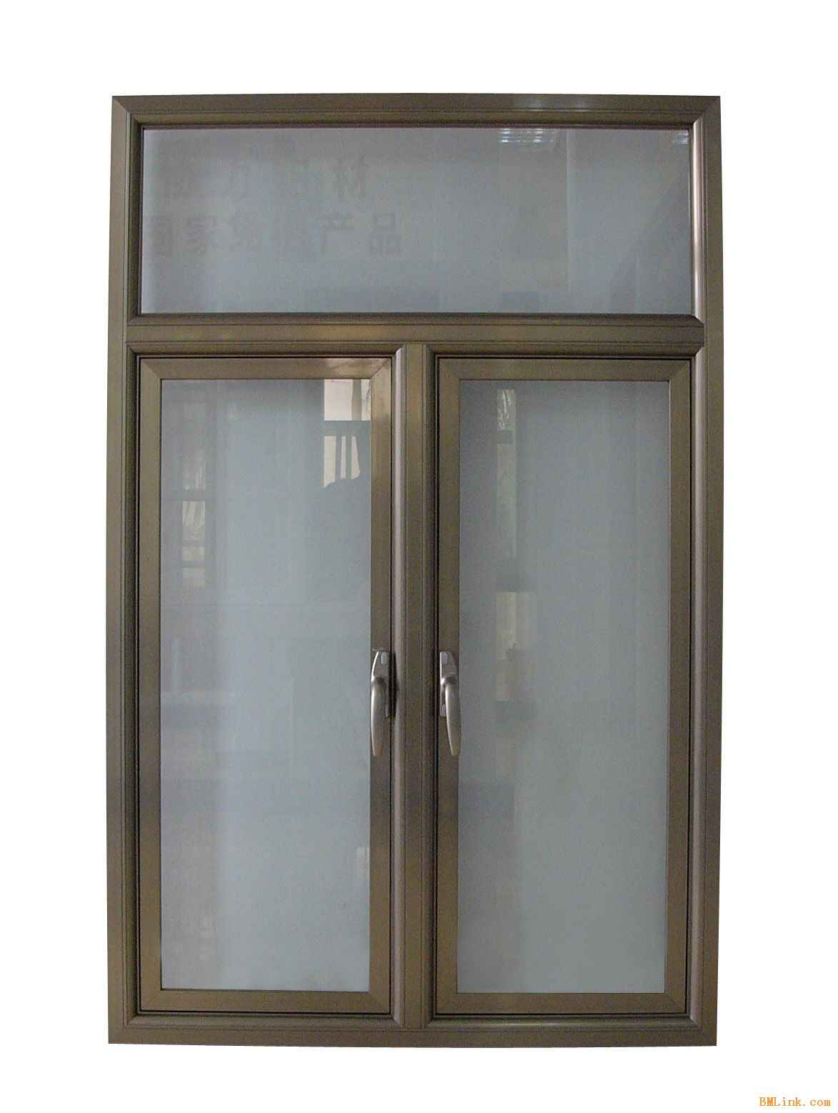 Aluminum Frech Swing Double Window