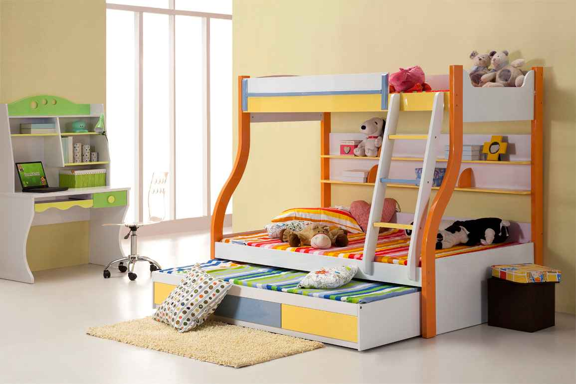 Kids Trundle Beds Feel The Home