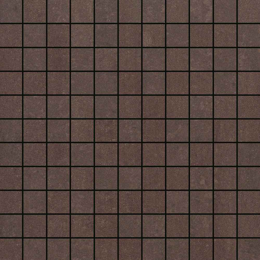 Brown Cubicle Mozaic Bathroom Tiles