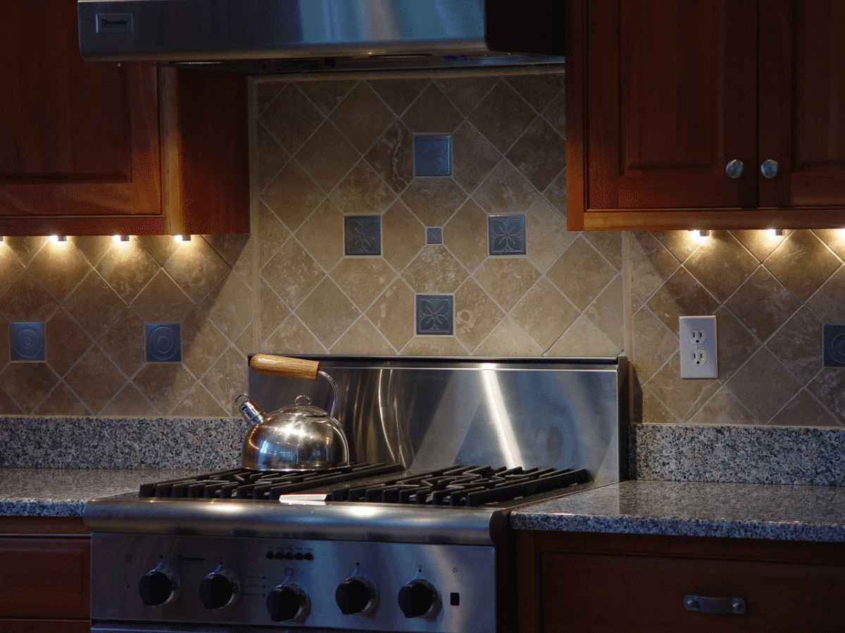 Divine Design Kitchen Backsplash